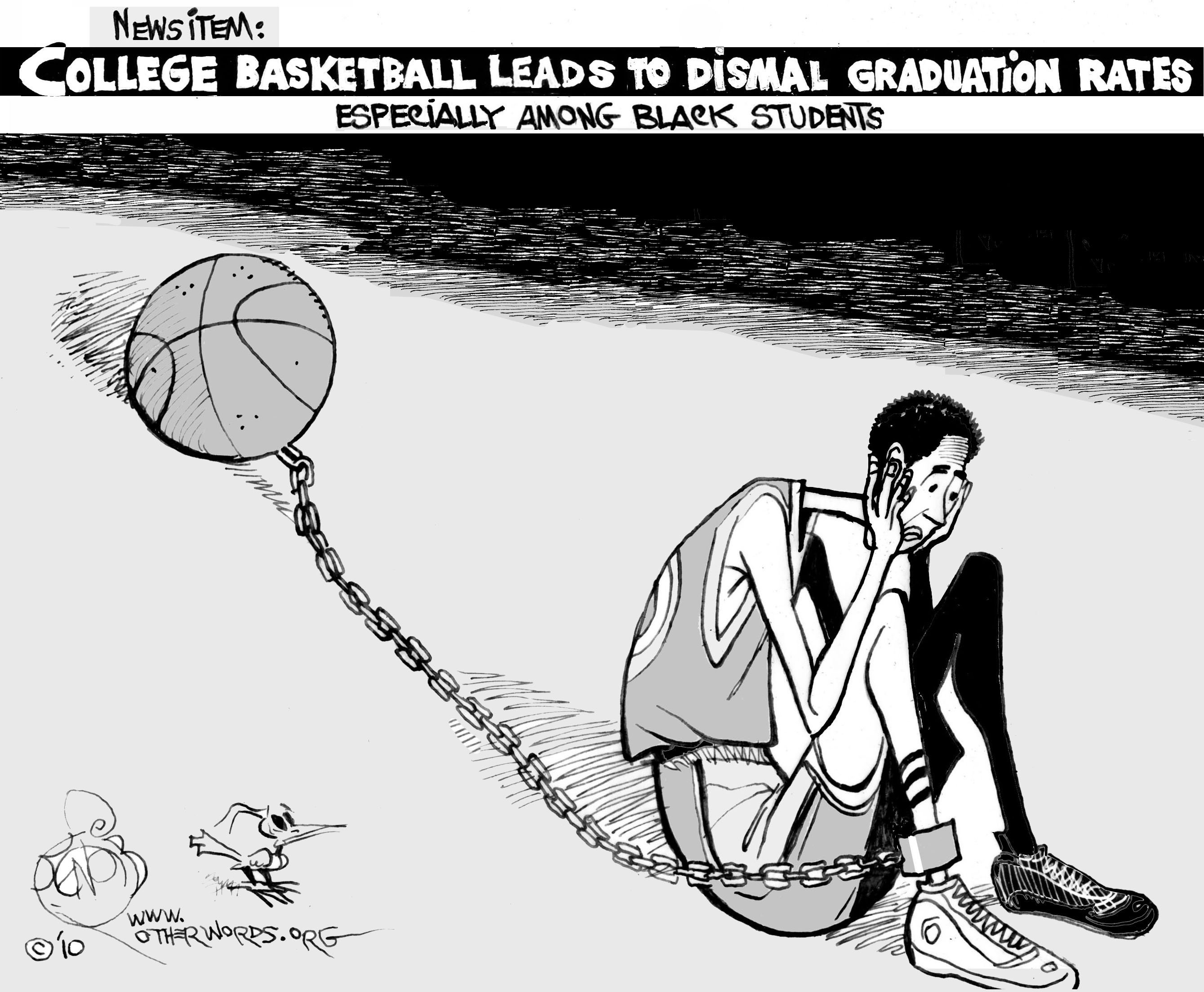 exploitation of college athletes And by not paying athletes, the ncaa is exploiting young adults in order to make college athletics a multimillion dollar industry as a sports fan, i'm guilty of supporting the ncaa and their maltreatment of student athletes.