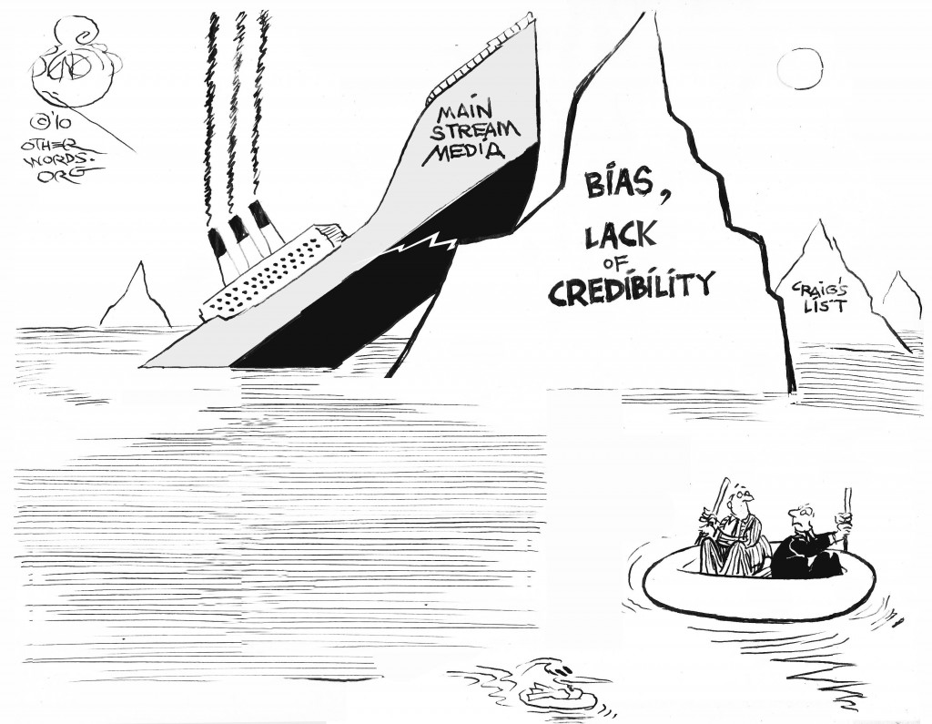 Media Disaster cartoon