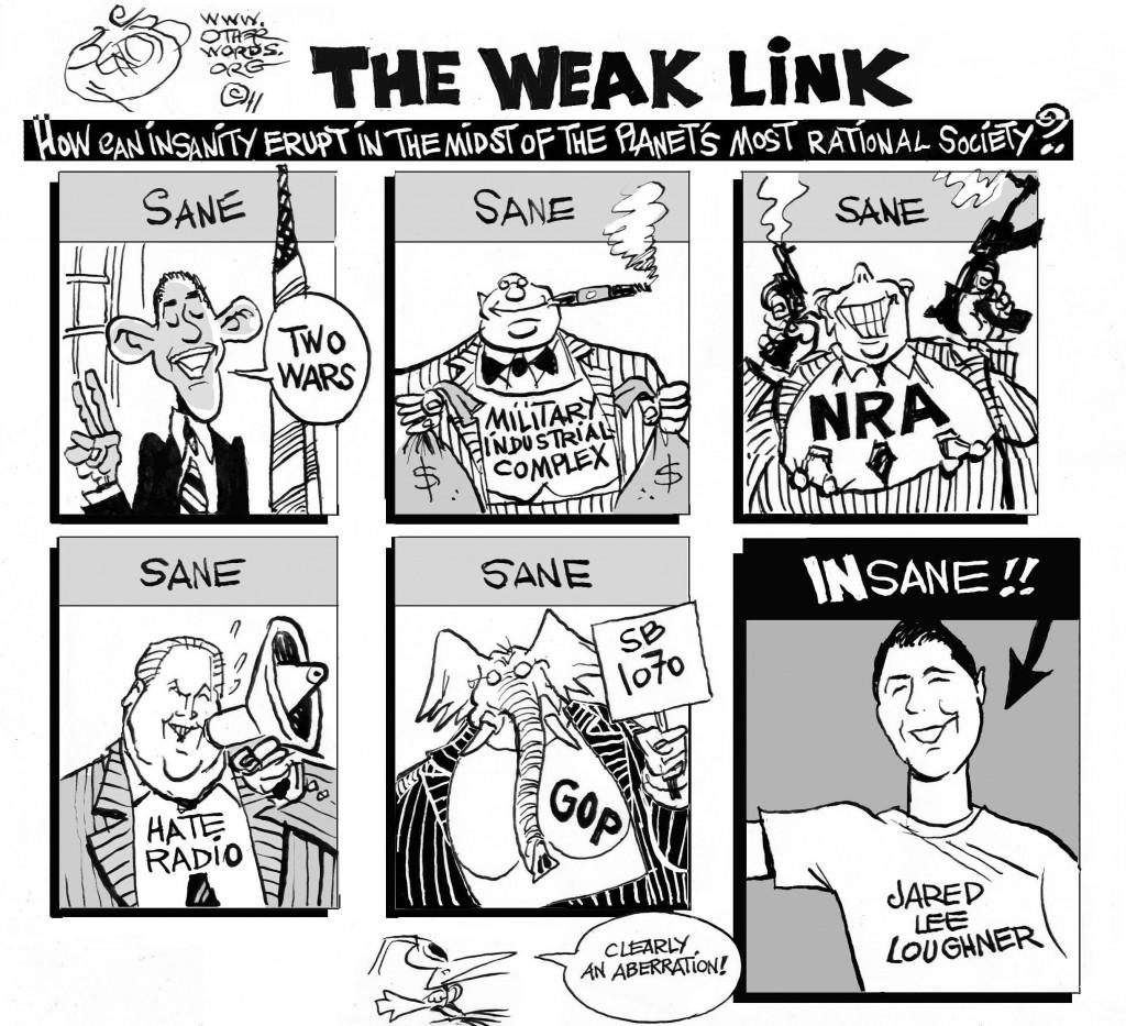 National Insanity cartoon