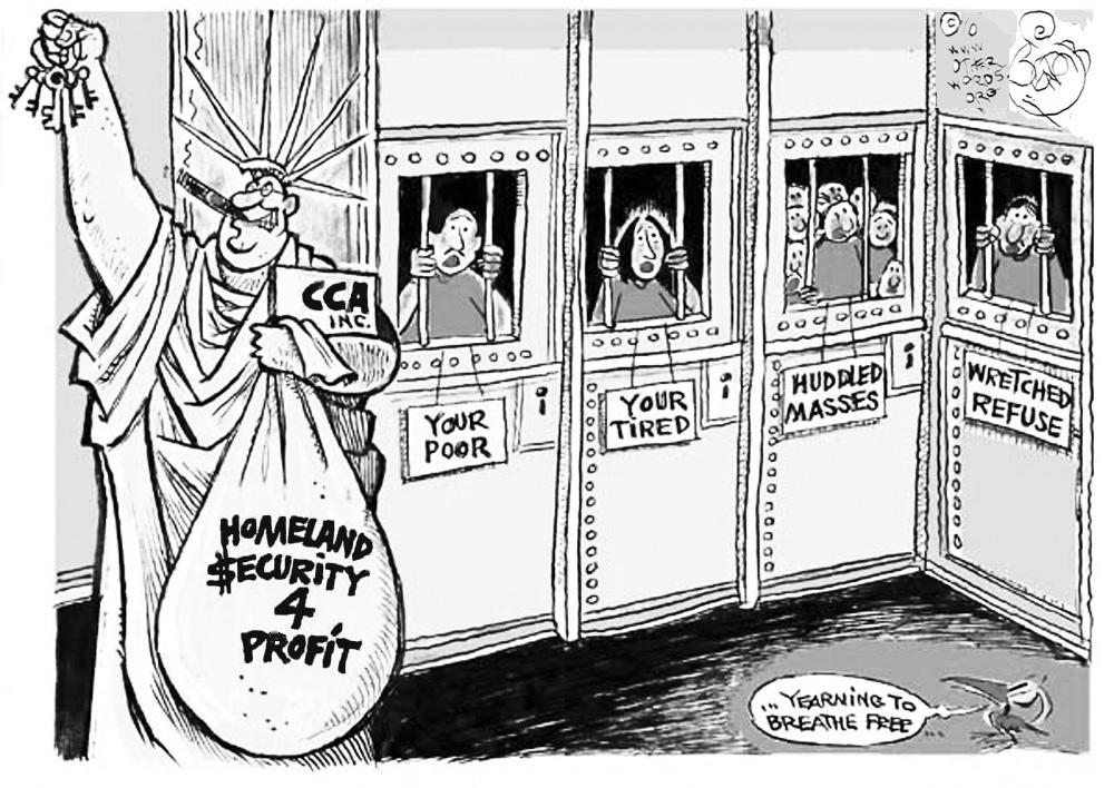 Profitable Immigrants cartoon