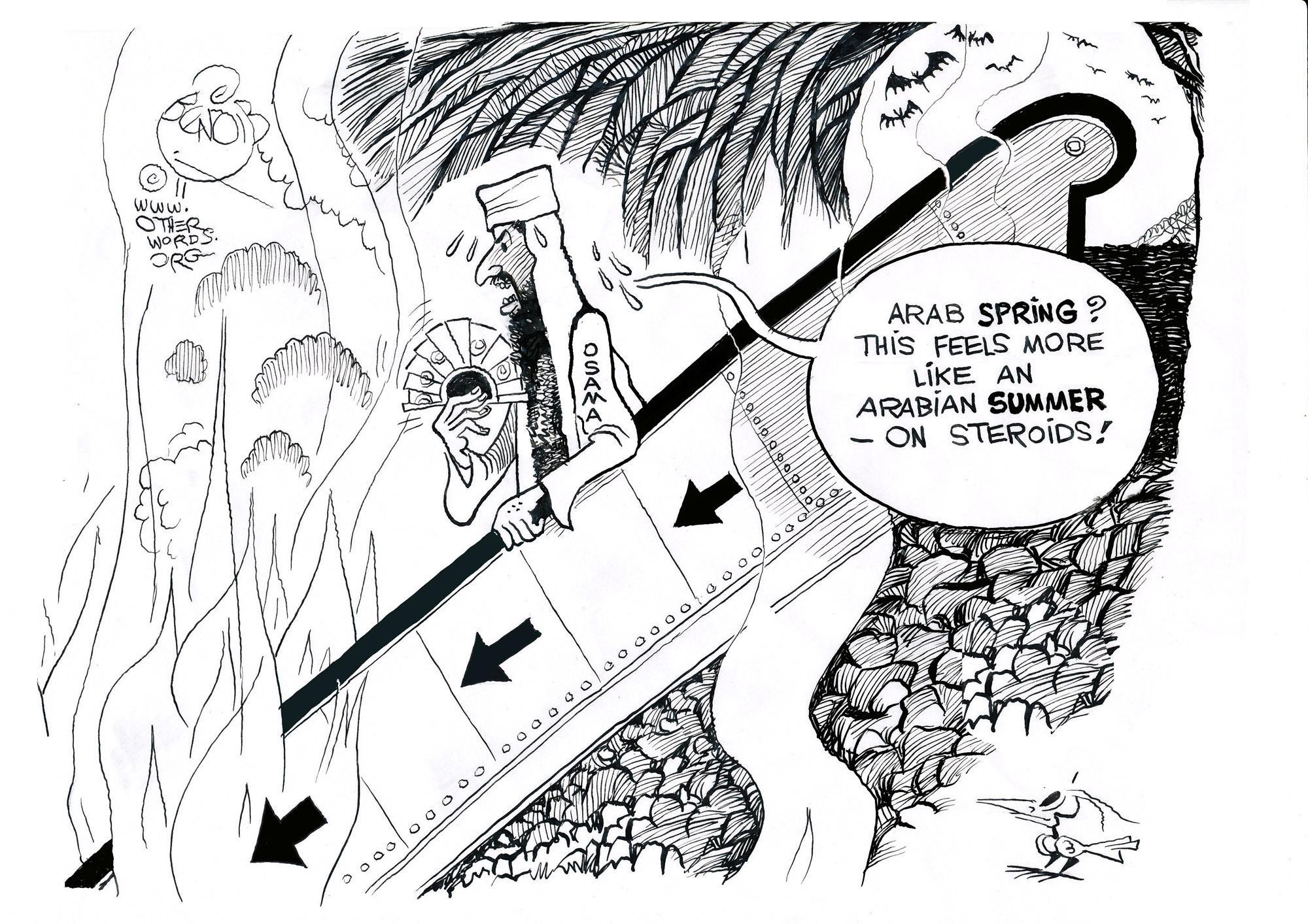 Osama's Descent