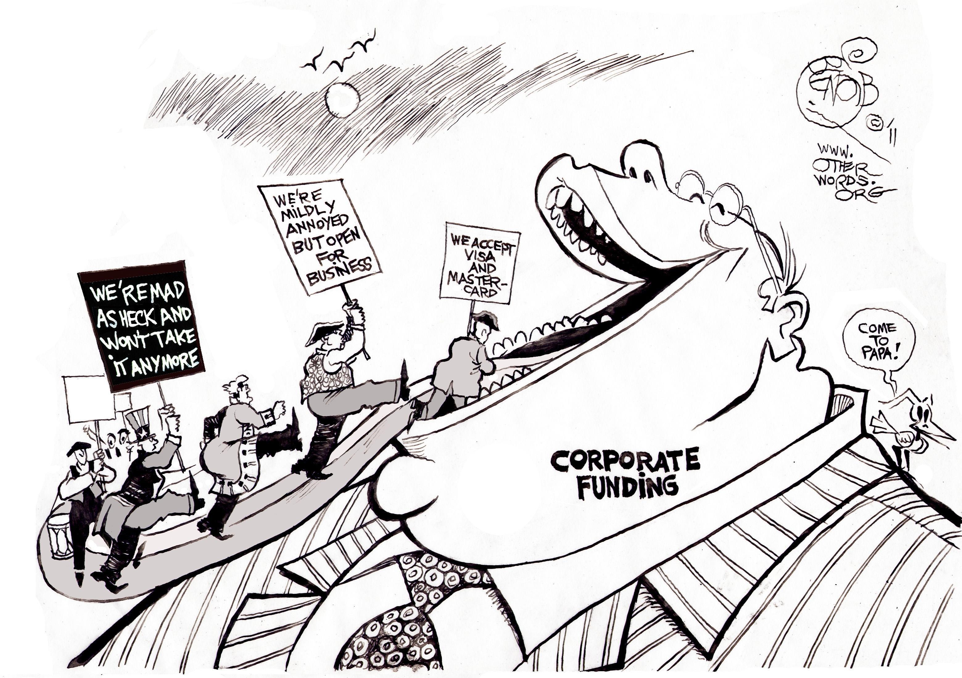 tea partiers march to lobbyists u0026 39  tune