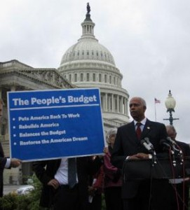 House members unveil the People's Budget