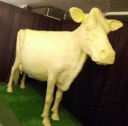 The Butter Cow (Iowa State Fair / Flickr)