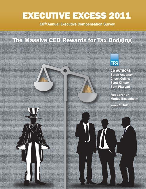 CEOs Rewarded for Corporate Tax Dodging