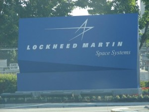 Lockheed Martin feels threatened by a peace resolution. Photo by ryry9379.