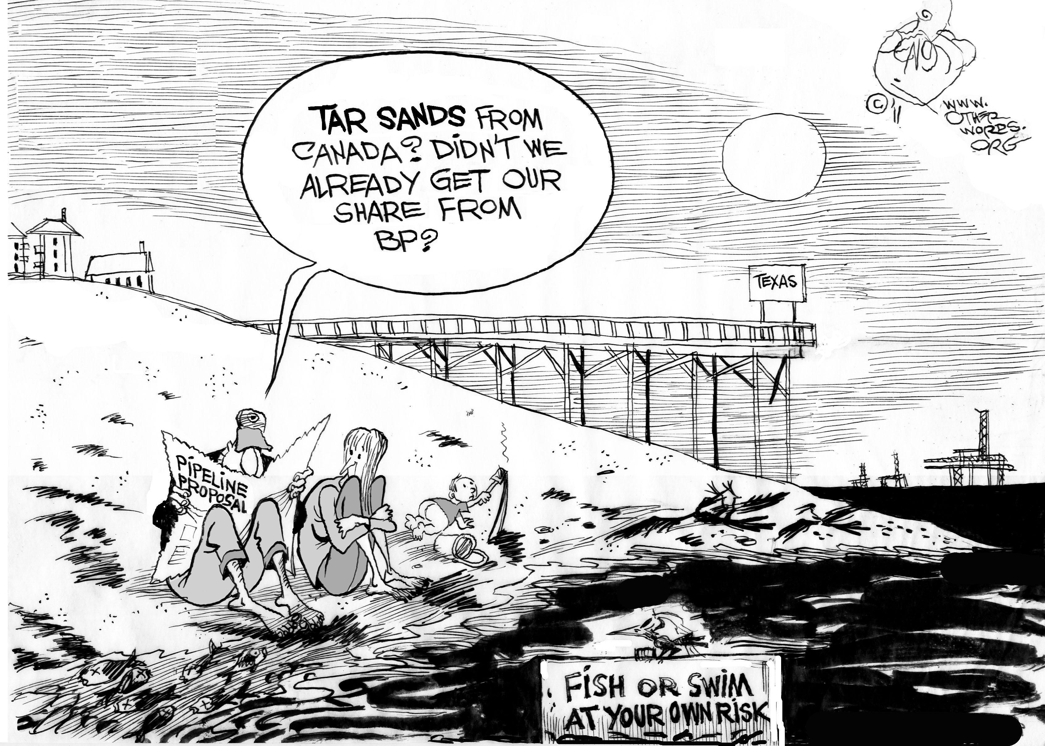 Obama: Reject the Tar Sands Pipeline
