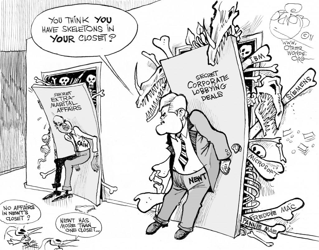 GOP Closets cartoon