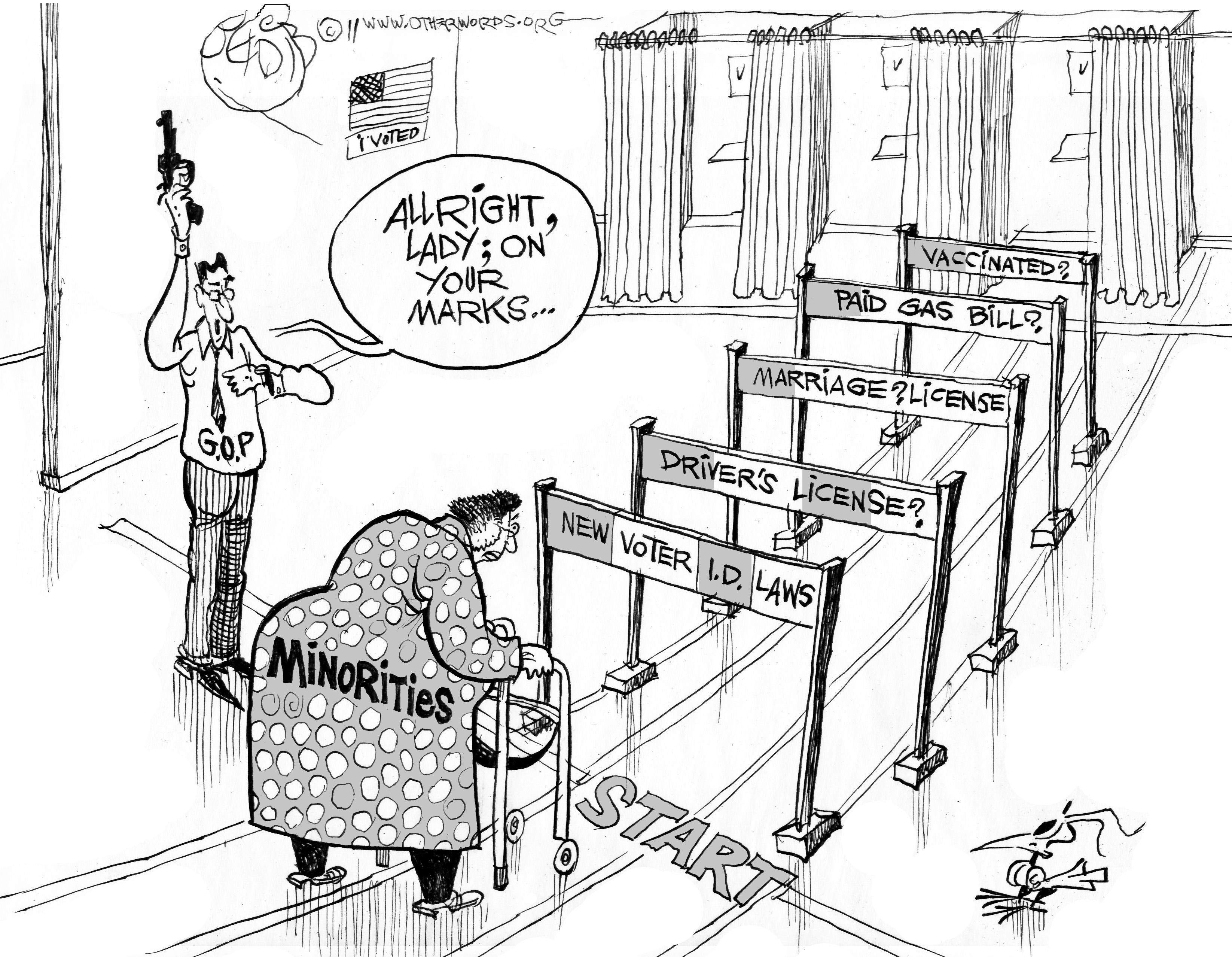 Image result for disenfranchising americans