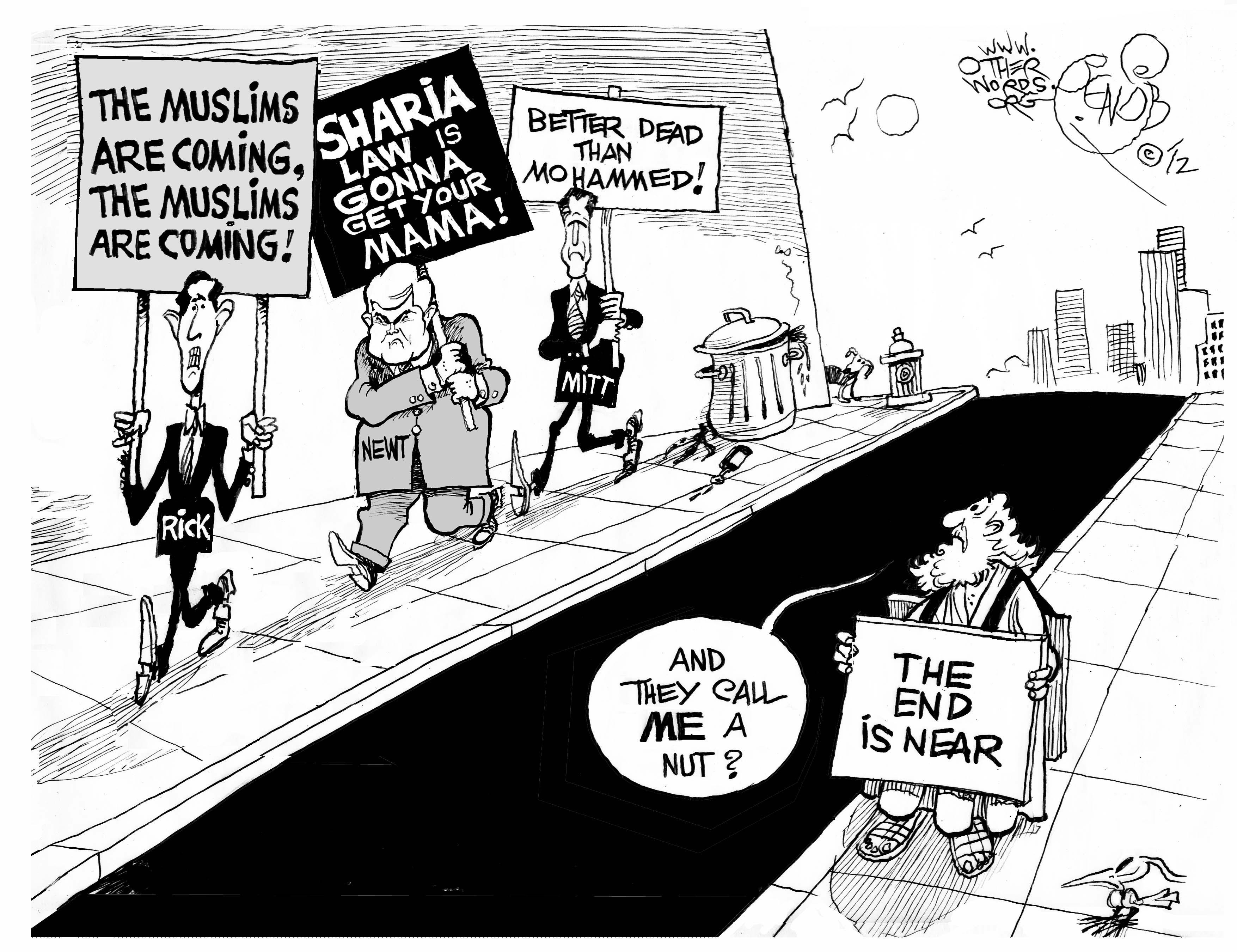 Islamophobic Contest