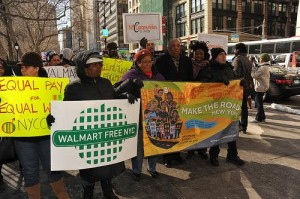Community members rally against Walmart in New York City (asterix611 / Flickr)