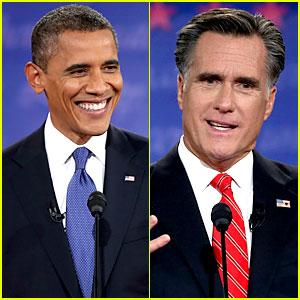 Romney and Obama debate