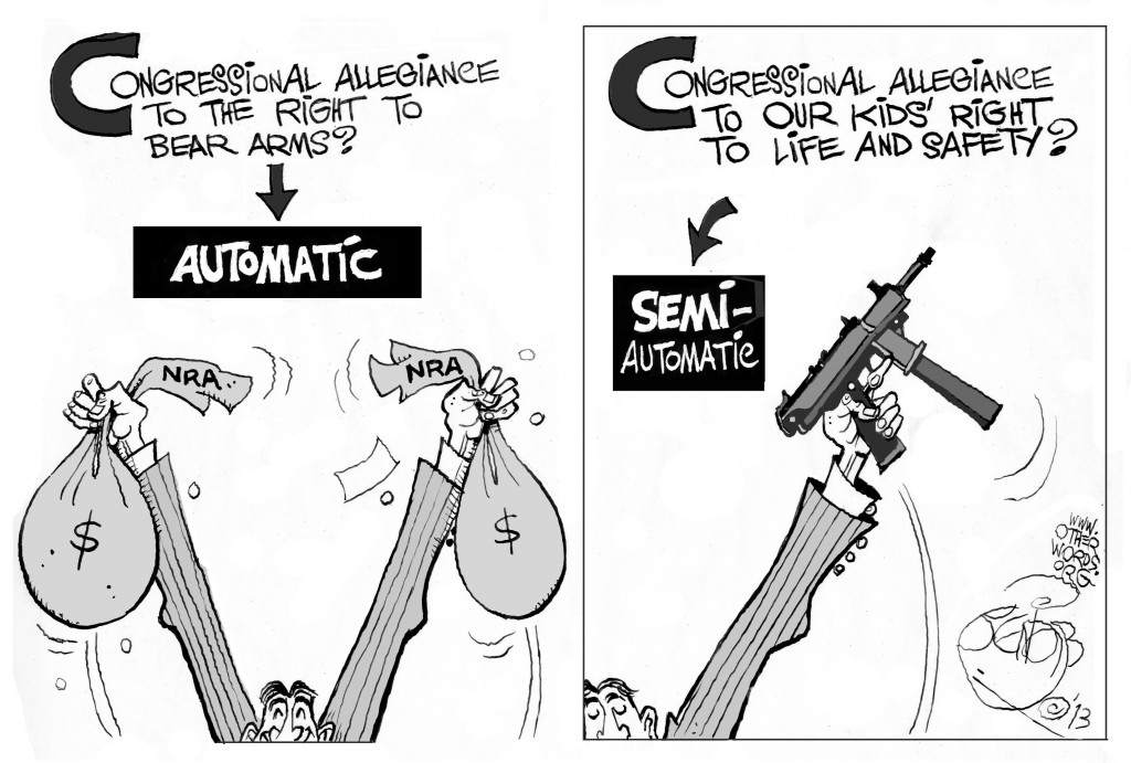 Automatic Congressional Allegiance Cartoon