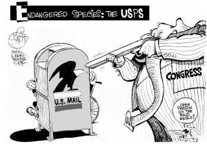 USPS under fire