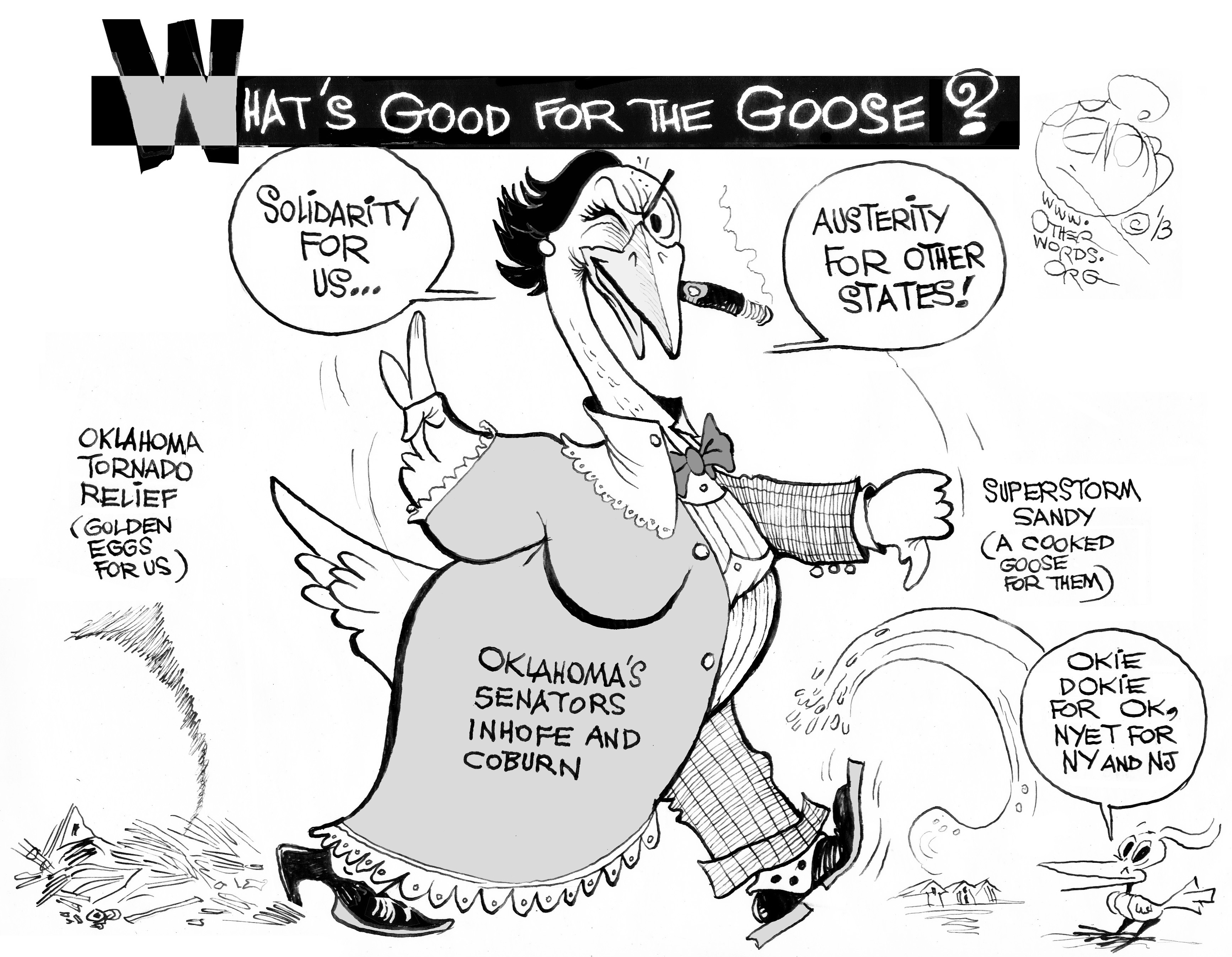 Oklahoma's Silly Goose