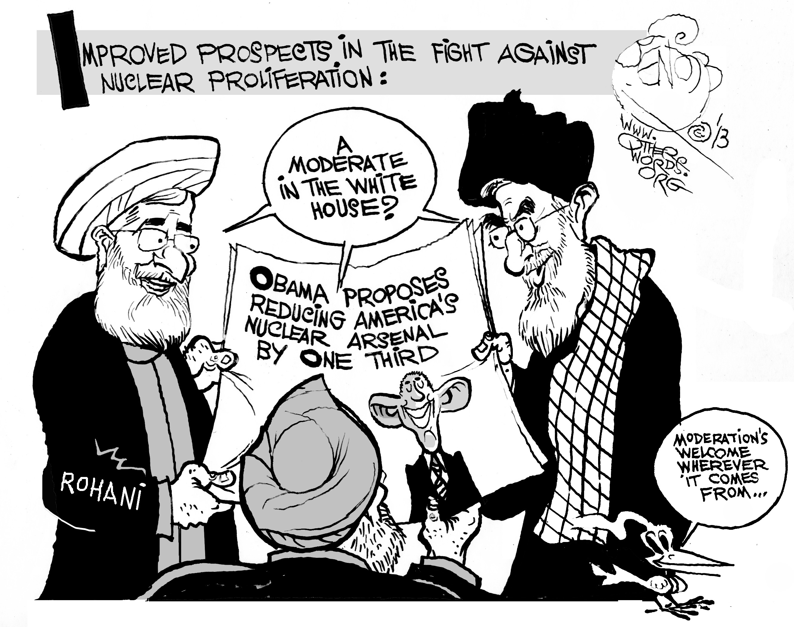 "nuclear iran Obama emphasized that the deal ""was never intended to solve all of our problems with iran,"" and he warned that undermining it despite no clear evidence."