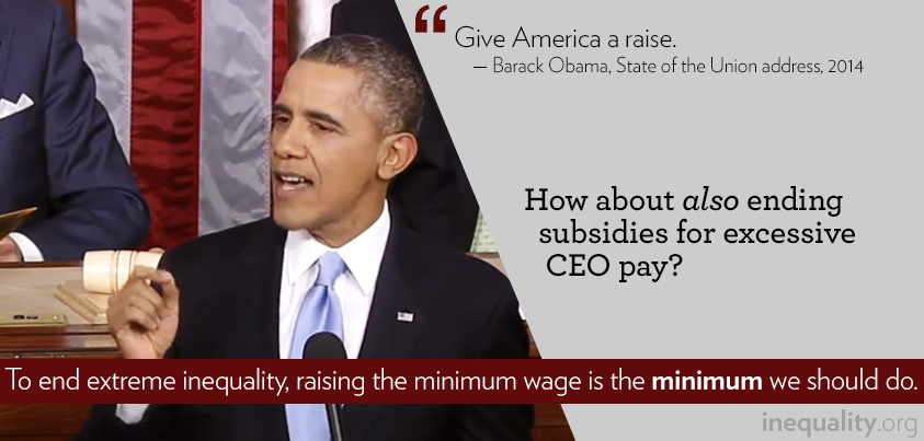 business inequality in america raising the minimum Raising the minimum wage would be a first step toward greater equality and revitalizing our economy less tax dollars may be needed on government programs someone trying to support a family on today's minimum wage does not even reach the federal government's poverty line for a family of three.
