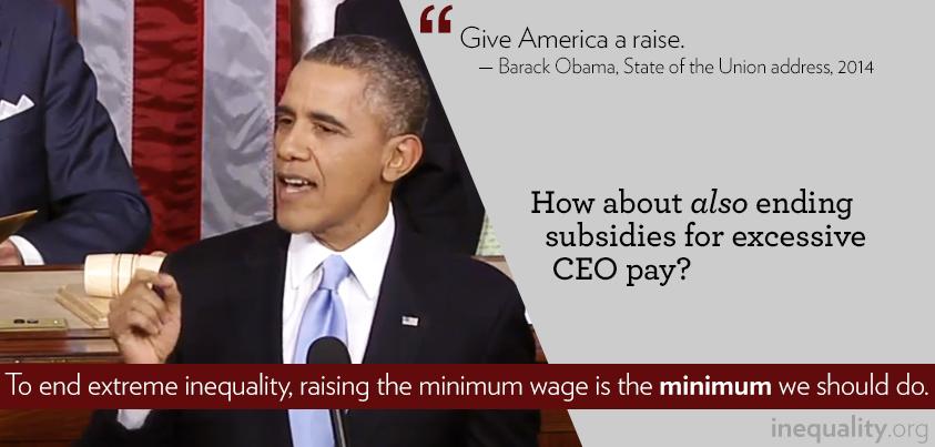 Obama on Inequality SOTU