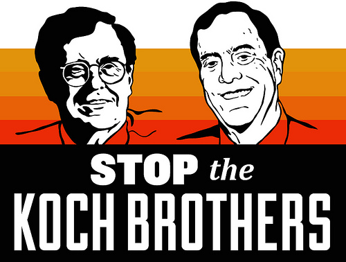 Occupying the Koch Brothers' Lobby