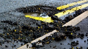 Potholes Show Infrastructure Needs