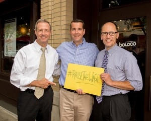 Maryland Governor Martin O'Malley at Boloco