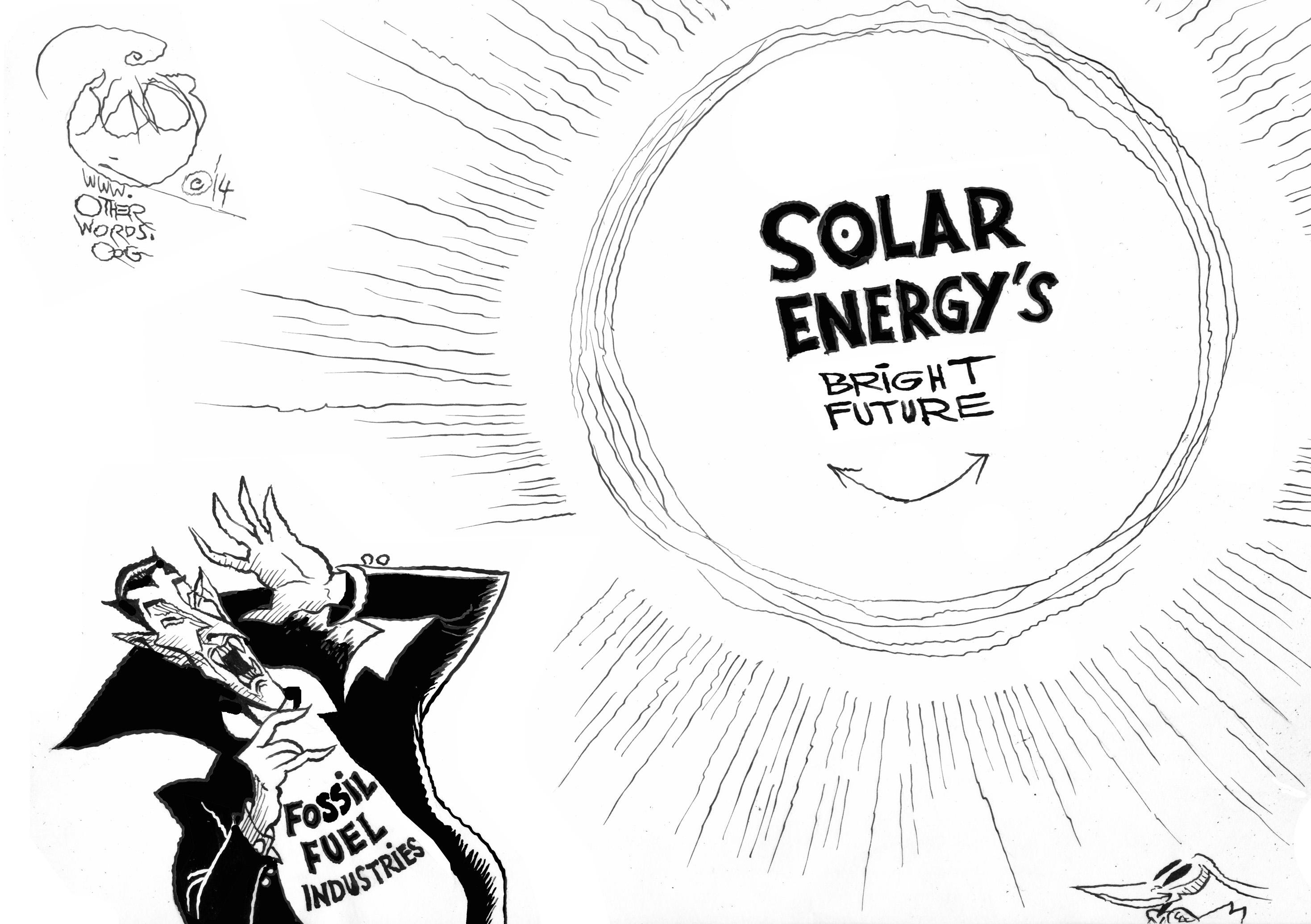 solar power gets hot  hot  hot