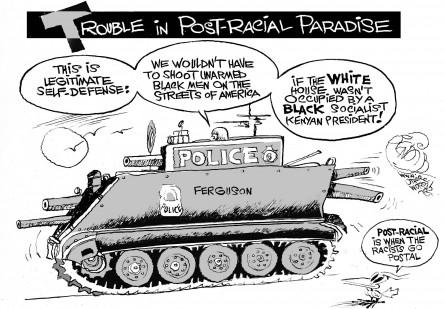 Racism Goes Postal