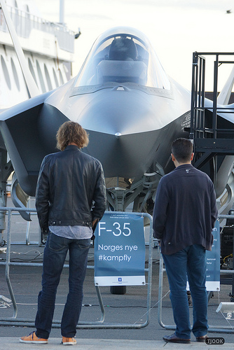 F-35 Bomber on Display