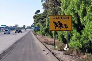 Central American Children Crossing Border