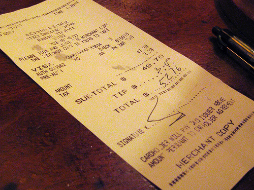 Bad Tips for Servers