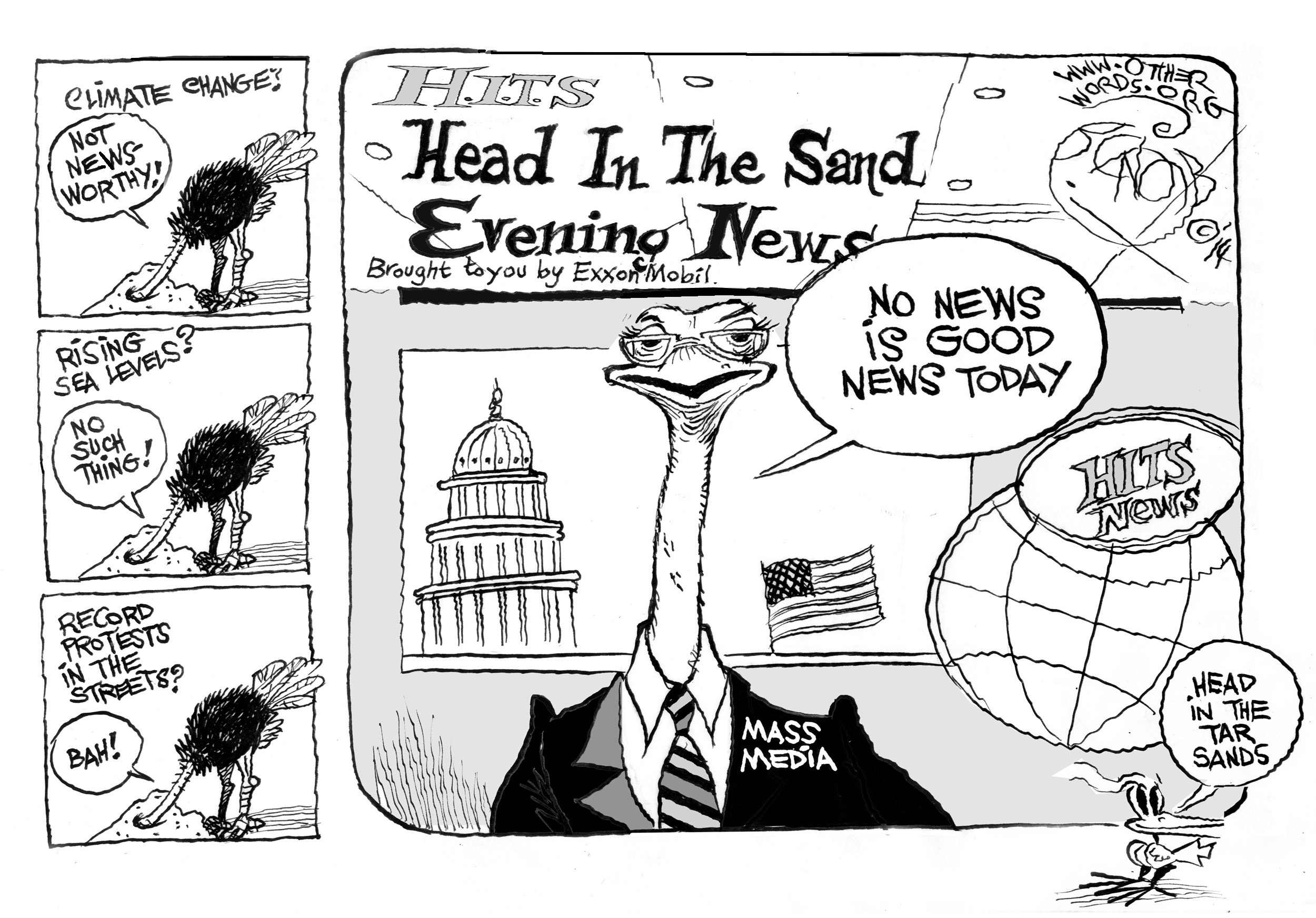 Head in the Tar Sands