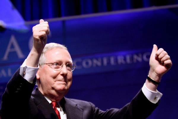 Mitch McConnell wins reelection