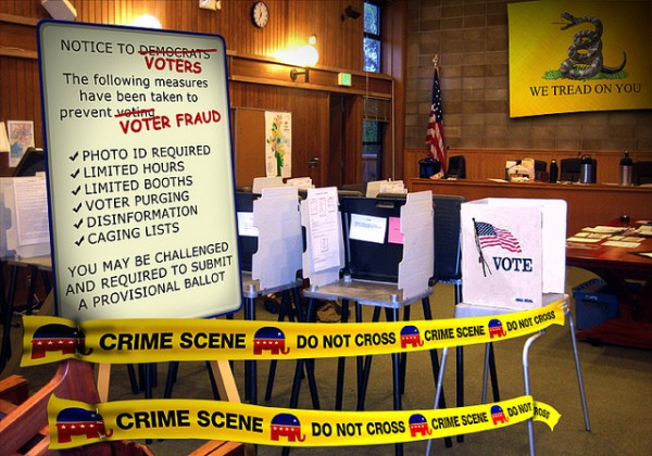 Republican Voter Suppression Tactics