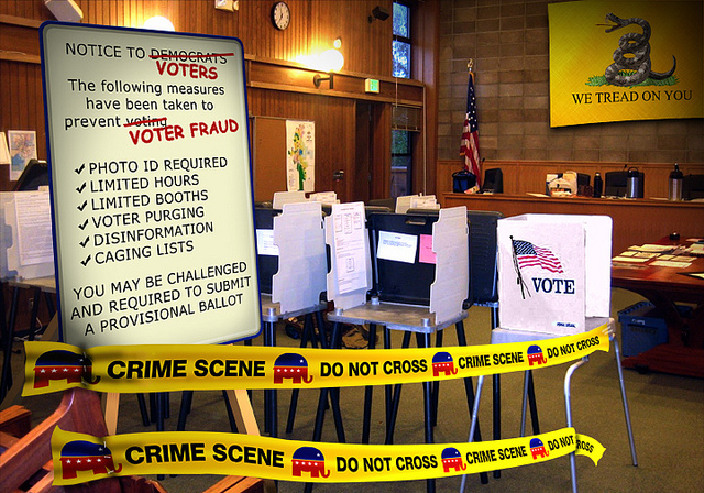 Get Ready for More Voter Suppression