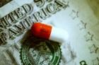 Money and Prescription Medicine