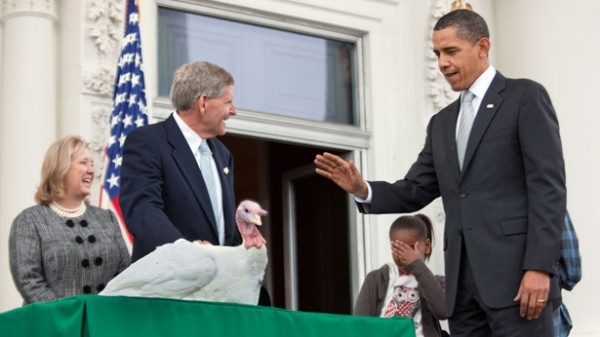 President Obama Pardons a Turkey, Wikipedia Commons