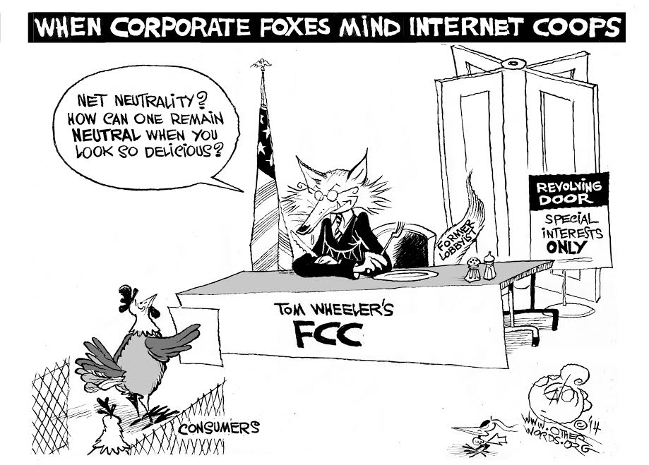 When Corporate Foxes Mind Internet Coops