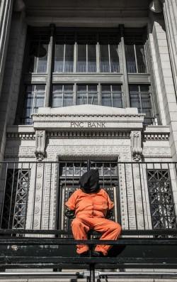 Torture Victim Protest