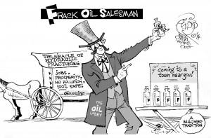 The Frack Oil Salesman