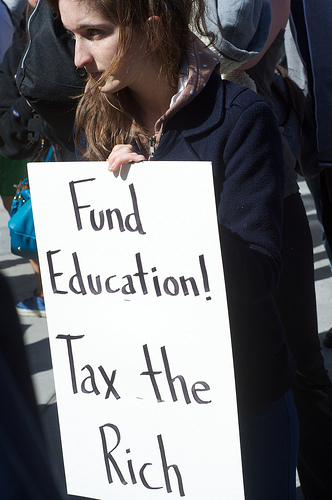 Fund Education, Tax the Rich