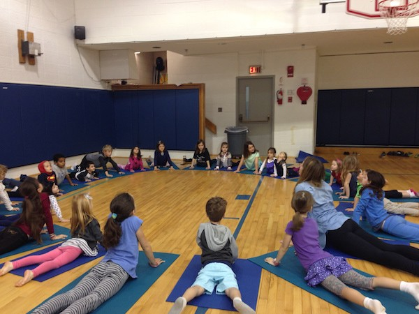 Teaching Kids Yoga