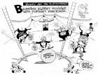 Walking the Presidential Tightrope, an OtherWords Cartoon by Khalil Bendib