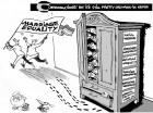The Inequality Rainbow, an OtherWords cartoon by Khalil Bendib