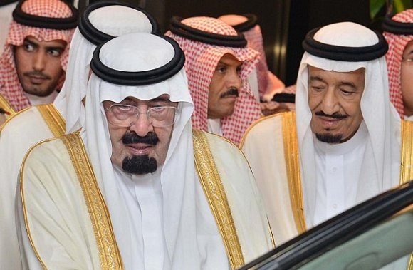 Late King Abdullah and King Salman, then the Crown Prince. Tribes of the World/ Flickr