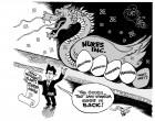 Going Nuclear Again, an OtherWords cartoon by Khalil Bendib