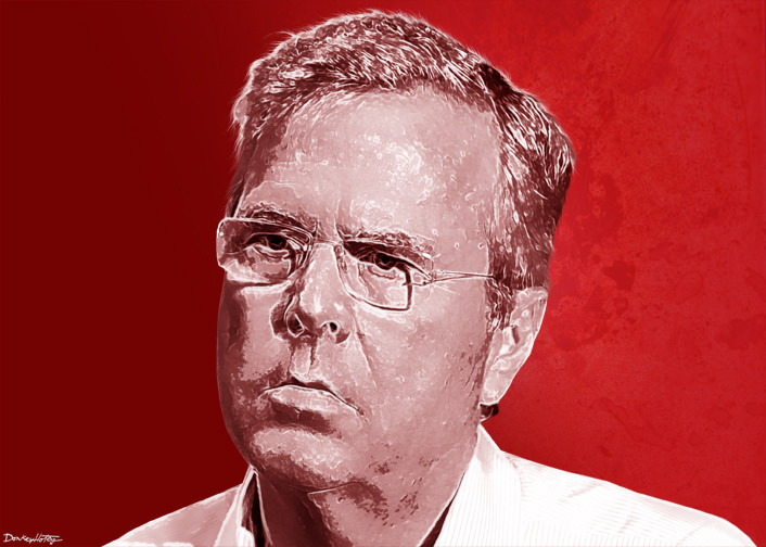 Can Jeb Bush Even Spell Integrity?