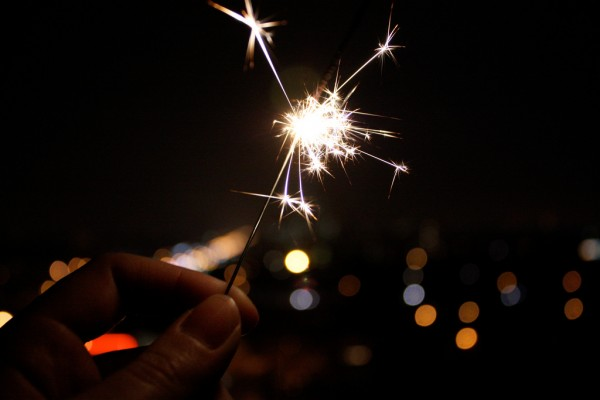 Fire-Sparkler-fireworks-new-year's-eve