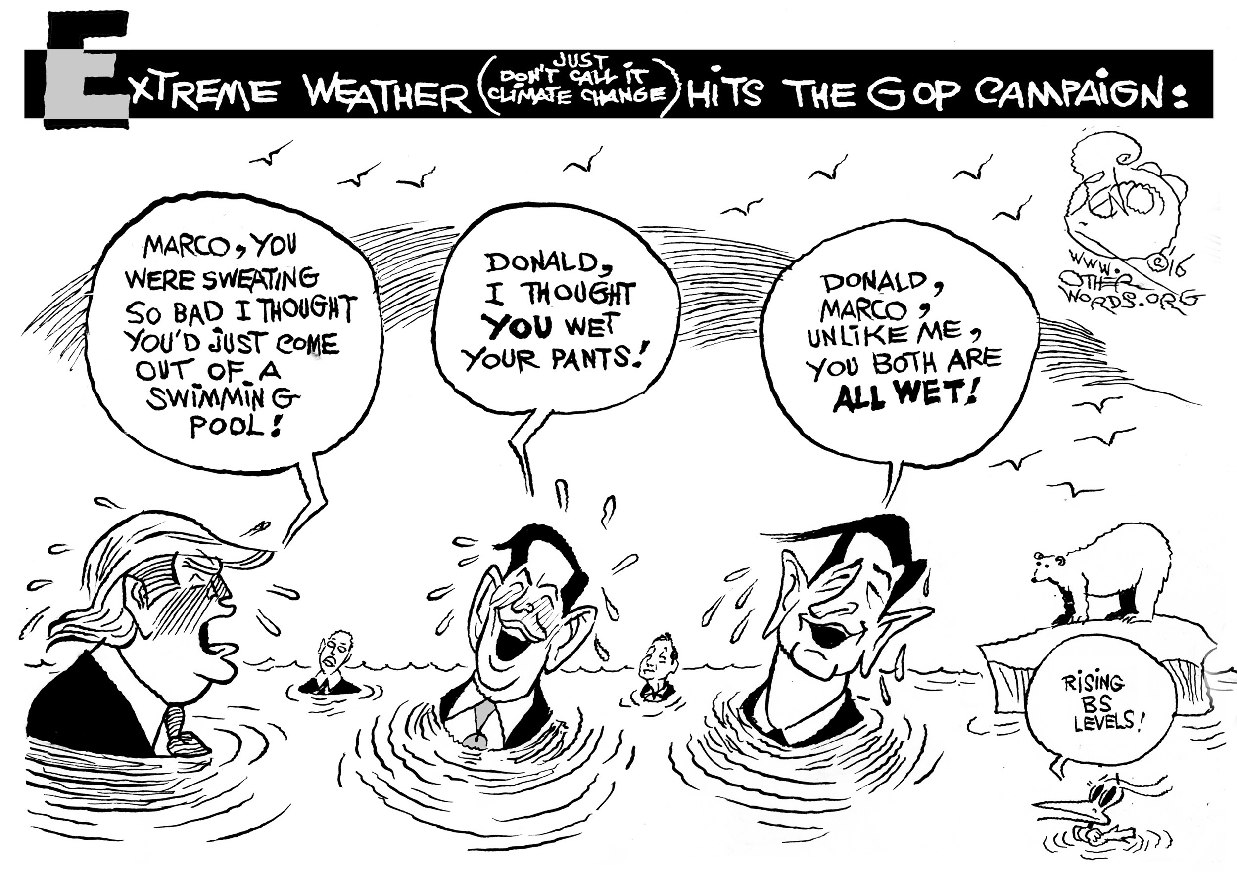 The GOP Experiences Extreme Weather