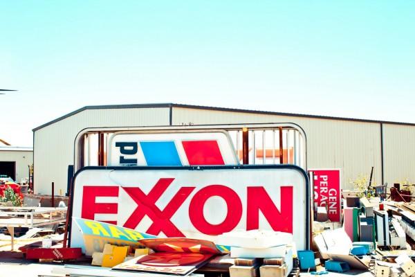exxon-mobil-sign-destruction