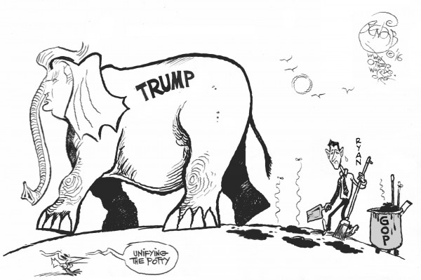 riding-trump-coattails-gop-cartoon